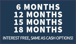 6/12/15/18 month interest free same as cash options available!